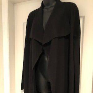 Theory black Wool Sweater sz Lg GUC